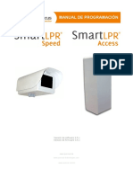 SmartLPRSpeed ProgrammingManual ES