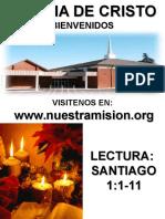EPISTOLA DE SANTIAGO (ANALISIS) SEMINARIO EN GUATEMALA 2013.ppt