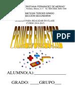 Planes Tercer CursoMATEMÁTICAS 2014 1015