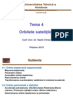 Orbitele satelitilor