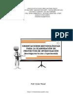 Estructura Para Proyectos de Investigación