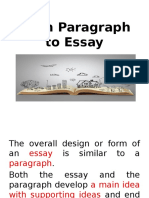 ppt 2 -moving from paragraph to essay 05 09 dec