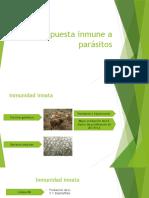 Respuesta Inmune a Parasitos