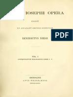 Niese-Flavii Ioseph Opera-Vol. I-Antiquitatum Ivdaicarum Libri-I-V-1887.pdf.pdf