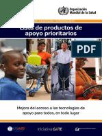 Productos de Apoyo Prioritario