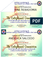 Certificate Ready