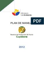 43 Plan de Manejo Cuyabeno Rpf Cuyabeno