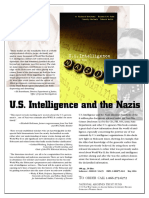 Us Intelligence and the Nazis