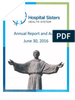 Hospital Sisters Health System, audited financial statements
