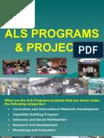 ALS Programs
