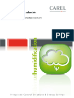 CAREL. Catálogo para selección de productos Sistemas para la humectación del aire