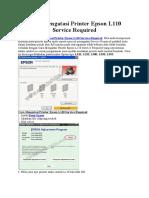 Cara Mengatasi Printer Epson L110 Service Required.docx
