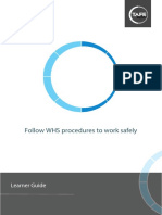 Follow WHS Procedures to Work Safely_V1