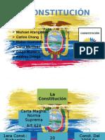 Grupo # 1 La Constitución