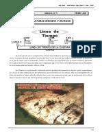 1ero. Año - HP - Guía Nº 5 - Culturas Chincha y Chancas