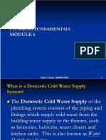 Module 6 - Plumbing Fundamentals