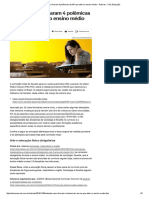 Entenda Como Ficaram 4 Polêmicas Da MP Que Altera o Ensino Médio - Notícias - UOL Educação