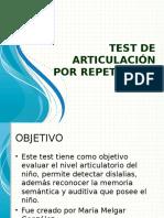 Ppt Test Tar