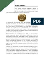 La Historia Del Dinero