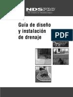 Principles of Exterior Drainage Quick Review Spanish