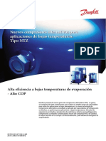 DANFOSS. Compresores Baja Temperatura NTZ