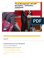 (131995948) 1908 What is New in Travel Management With SAP on Premise on Device and on Demand