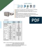 VCA VEA072 Ducted Split Unit(R407C) 220V3PH60Hz (1)