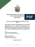 clasififcacion AO