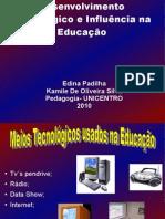 Slide Desv. Tec. Ed. CERTO