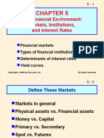 The Financial Environment:Markets, Institutions,and Interest Rates