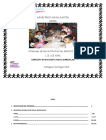 Programa de Educ Inicial