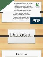 disfasia y afasia