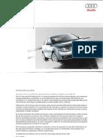 Manual de Usuario Audi A4