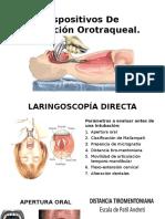 Dispositivos de Intubación Orotraqueal