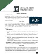 LITERATURA 15 LIT SIGLO XX VANGUARDIA Y NARRATIVA.pdf