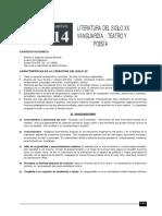 LITERATURA 14 LIT SIGLO XX TEATRO Y POESIA.pdf