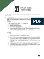 LITERATURA 21 LIT COLONIAL Y EMANCIPACIÓN.pdf