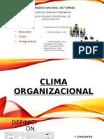Expo Clima Organizacional