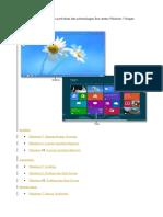 Perbedaan Teknologi Dan Fitur Antara Windows 7 ,Windows 8 Dan Windows 10