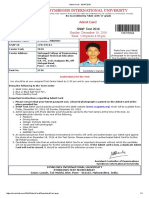 Admit Card - SNAP 2016 (1)