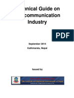 Technical Guide on Telecommunication Industry