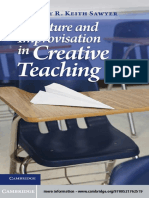 2011. Structure & I in Creative Teaching - Keith Sawyer
