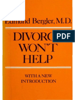 Edmund Bergler - Divorce Won't Help