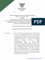 PMK 213 PMK.03 2016 Jenis Dokumen Dan Atau Informasi Tambahan Yg Wajib Disimpan Oleh WP Yg Melakukan Transaksi Dengan Para Pihak Yg Mempunyai HI