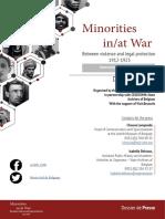 Dossierpresse Minorities Colloque