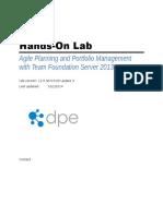 Agile Planning and Portfolio Management With Team Foundation Server 2013