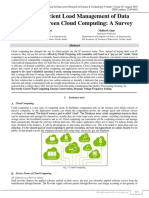 Energy Efficient Load Management of Data Center for Green Cloud computing