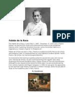 Fabián de La Rosa