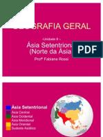 GEOGRAFIA GERAL - Ásia Setentrional (Rússia Asiática)