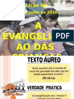 EVANGELIZAÇÃO CRIANÇAS